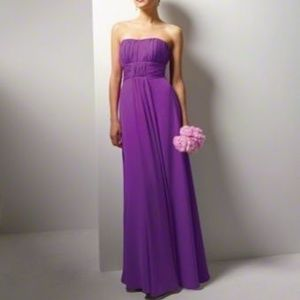 """Alfred Angelo """"Violet"""" Chiffon Gown NWT- Size 12"""